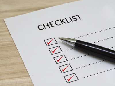 managed services checklist